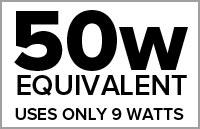50 Watt Equivalent