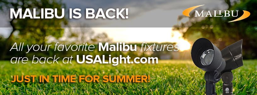 Malibu Lights are Back at USALight