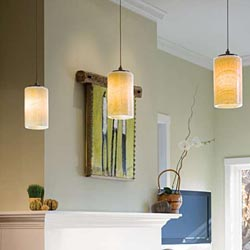 What are the types of trims for recessed lighting?