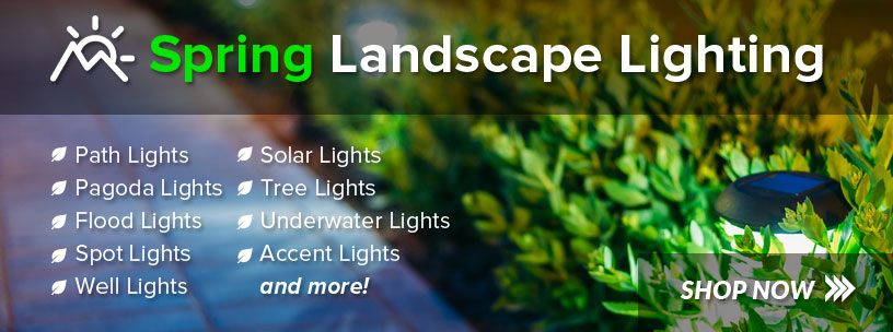 Spring Landscape Lighting from USALight